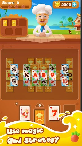 Cooking Solitaire Screenshot