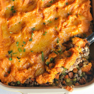 Shepherd's Pie with Cheese.