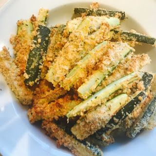 Healthy Baked Zucchini Fries.