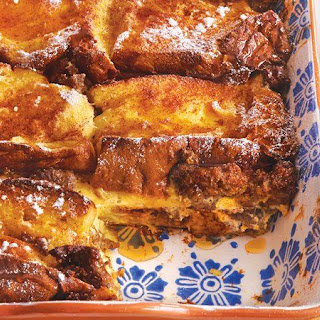 French Toast-Sausage Casserole