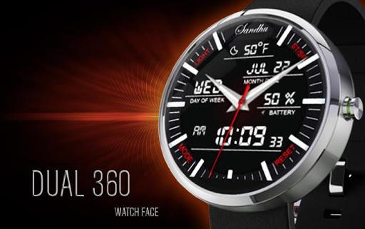 Dual 360 Watch Face