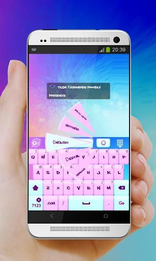 ピンクのパステル GO Keyboard|玩個人化App免費|玩APPs