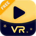 VR Cinema - Moon VR Player: 3d/360/180/Videos icon