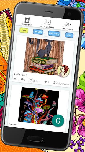 Colorish - free mandala coloring book for adults painmod.com screenshots 3