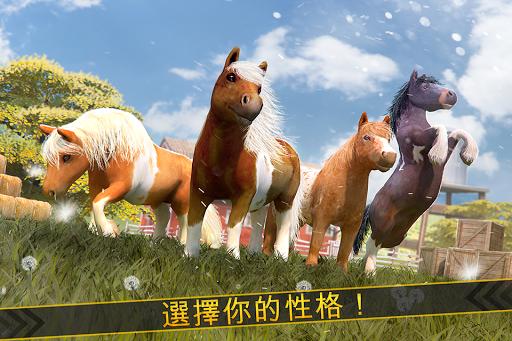 玩模擬App 我的 小 小馬 . 免費 魔法 馬兒 賽馬 游戲 的 女孩免費 APP試玩