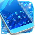 Blue Theme Apk