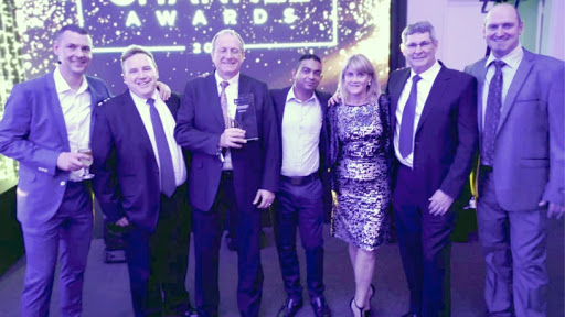 Datacentrix takes Lenovo DCG Platinum Partner of the Year award. (from l-r) Jim Holland, regional director: Lenovo DCG, Southern Africa; Shawn Marx, business unit manager, Datacentrix; Graeme Dendy, business unit manager: Converged Solutions, Datacentrix; Suveer Rambaran, Lenovo product specialist, Datacentrix; Michele Groenewald Lenovo Datacenter Partner Account Manager; Conrad Dellar, pre-sales specialist, Datacentrix; and Steven Bouwer, pre-sales specialist, Datacentrix.