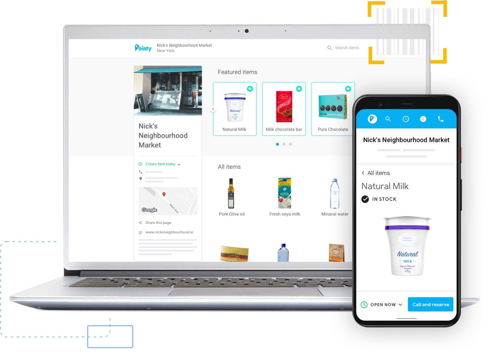 Easily get your products online