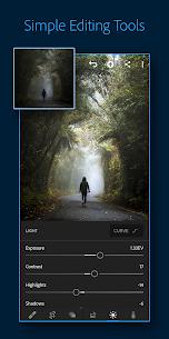 تحميل تطبيق Lightroom مهكر للاندرويد [آخر اصدار] 1