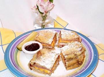 Fryed Monte Cristo Sandwich