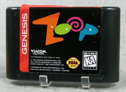 Video game:Sega Genesis Zoop — Google Arts & Culture