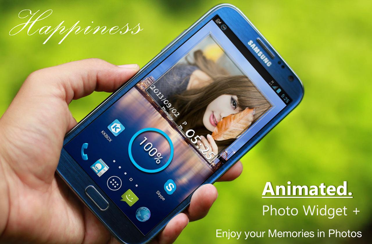 app photo widget
