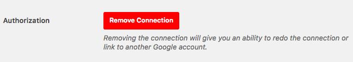 Eliminar conexión en WP Mail SMTP