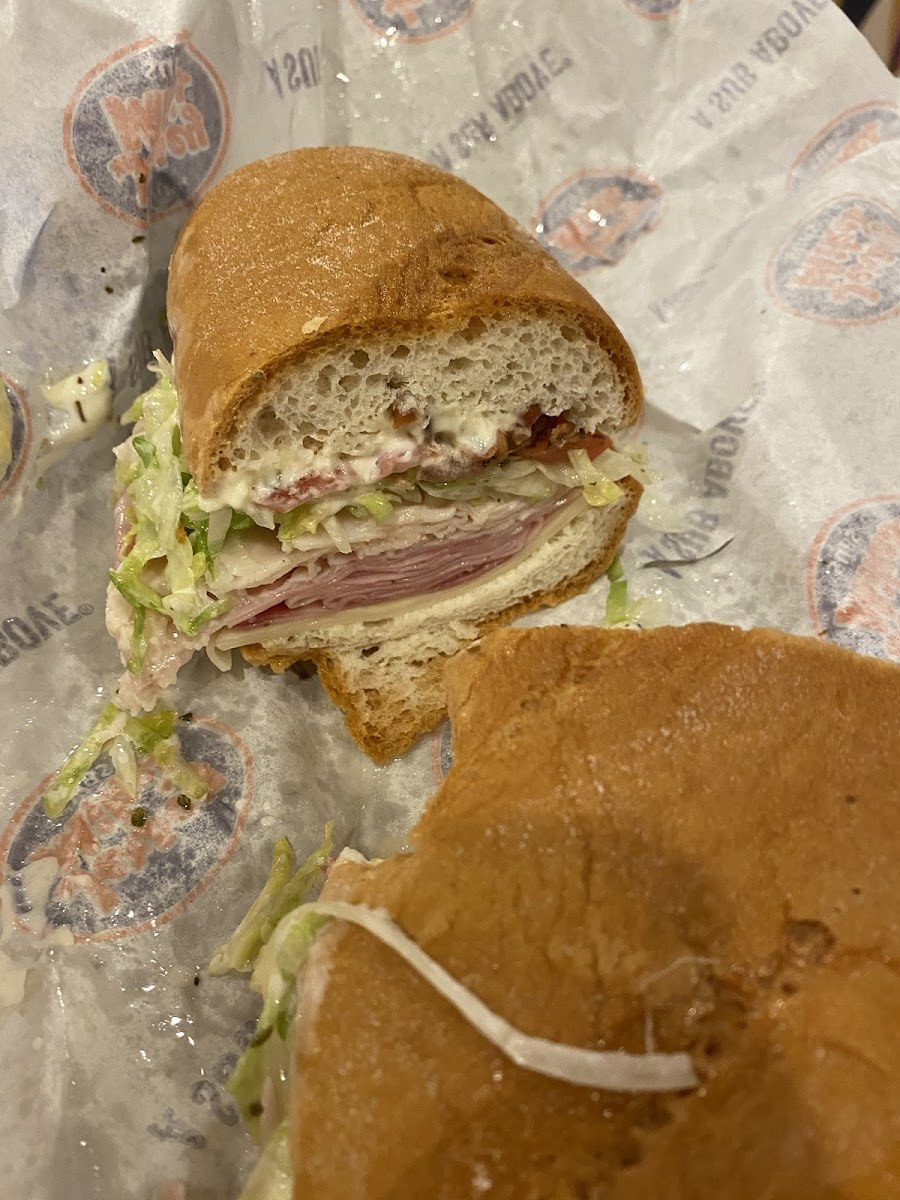 Photo from Jersey Mike's Subs