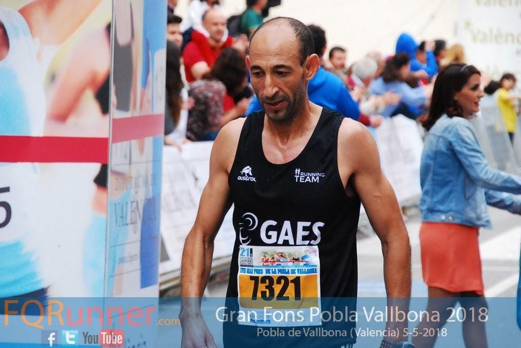 Atleta del Gaes Running Team HASSANE AHOUCHAR