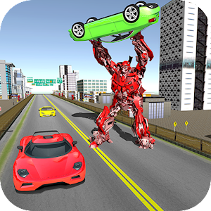 Car Transform Robot City War