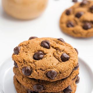 Chocolate Chip Coconut Flour Cookies (paleo, vegan option).