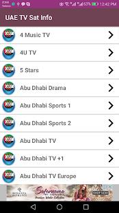 UnitedArabEmirates TV channels (Sat info)-FREE - náhled