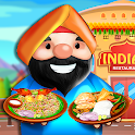 Indian Food Diary Masala Cooking: Chef Restaurant icon