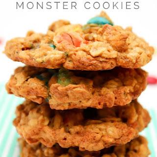 Pumpkin Monster Cookies