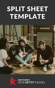 split sheet template
