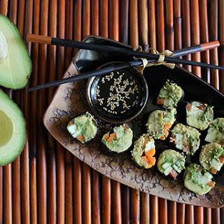 """Veggie """"Sushi"""" Rolls Recipe"""