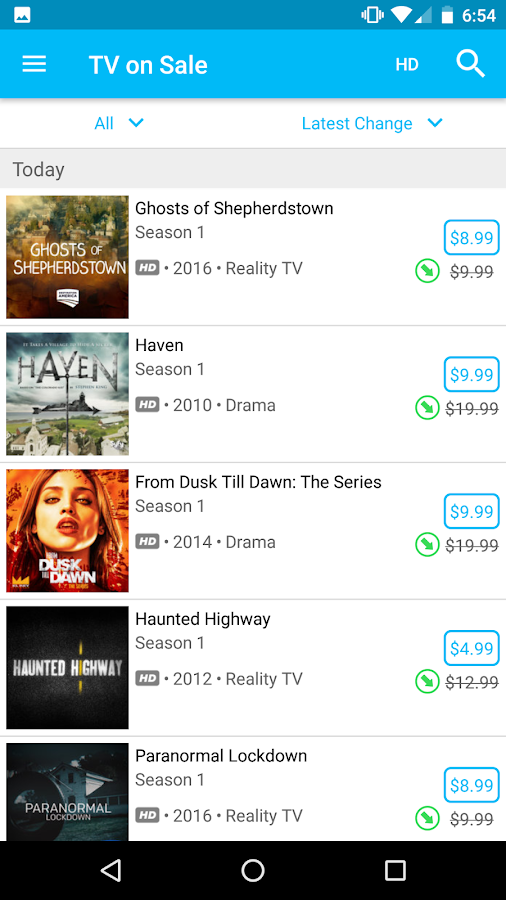 CheapCharts - Deals for you- screenshot