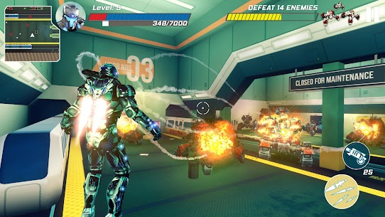 Iron Avenger – Infinite Warfare RPG Apk  Download For Android 4