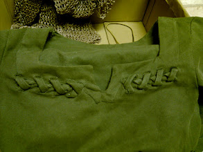 Photo: Check out the detail for the top of the tunic!