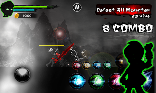 Alien Force Bentenny Dark Ghostfreak 10x Transform game (apk) free download for Android/PC/Windows screenshot