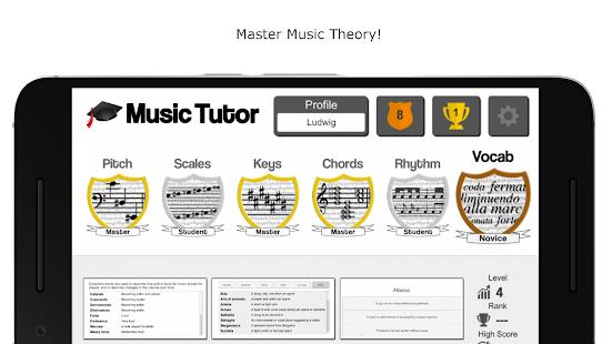Music Tutor - náhled