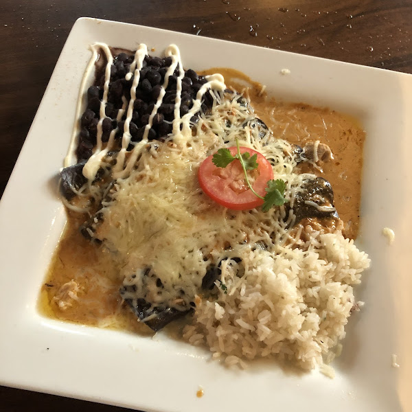 Sooo good!  Most of the menu is or can be made GF.  The blue corn enchiladas with chicken are so good!  We're only visiting or this would be my new go-to restaurant.