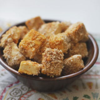 Crispy Baked Popcorn Tofu Recipe