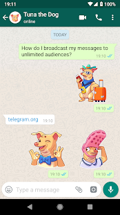 WhatsApp Stickers – Telegram 7