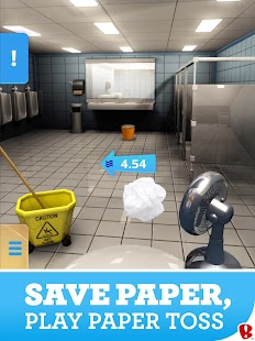 Paper Toss Screenshot