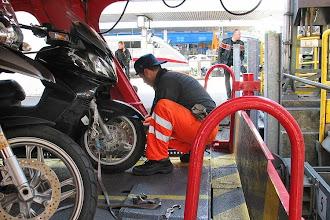 Photo: gleich sind die Bikes wieder frei