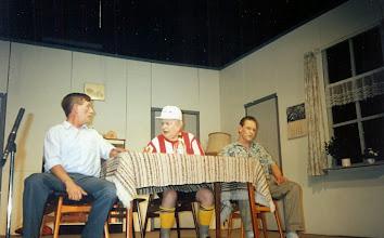 Photo: Rieks Hadderingh, Piet Philips en Bertus Boer