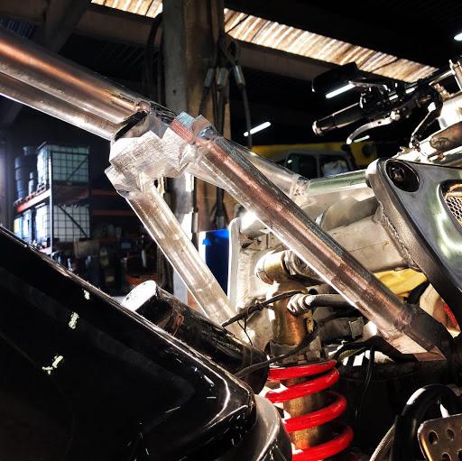 boucle arrière de car aluminium taille dans la masse