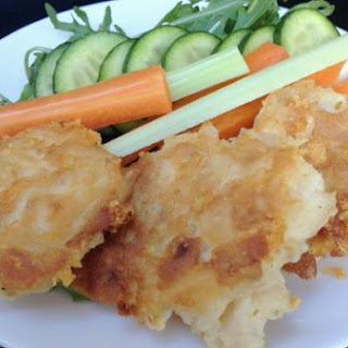 Gluten-free Mac Cheese Fritters