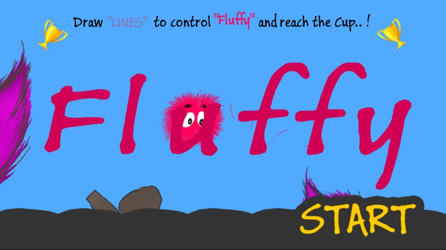 Fluffy - A game of lines- screenshot