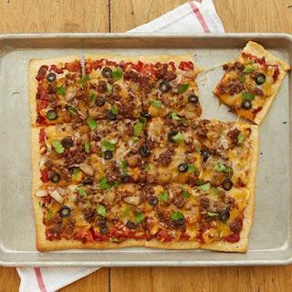 Beefy Tex-Mex Pizza