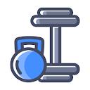 Fine & Fitness Gym, Sector 58, Noida logo