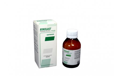 fexofenadina pseudoefedrina rinolast d suspensión x 120 ml farma suspensión x 120 ml