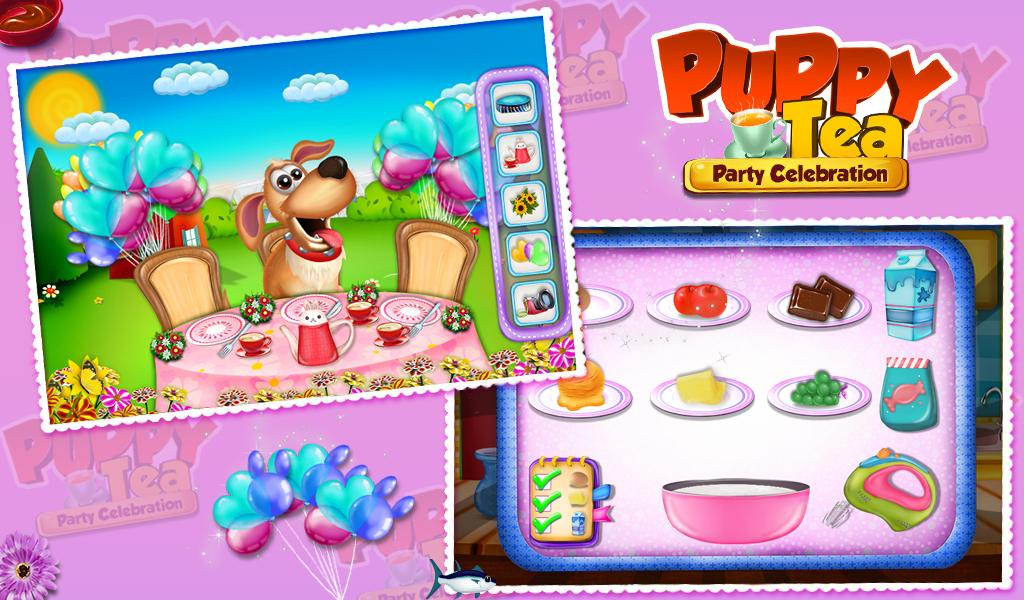 Puppy Tea Party Celebration- screenshot