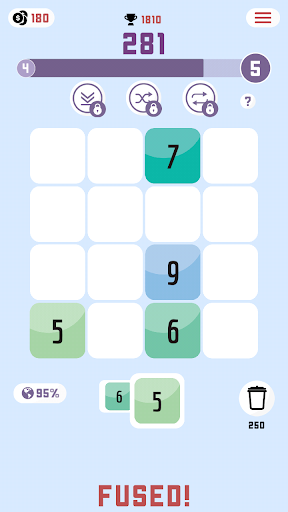 Fused: Number Puzzle Game - screenshot