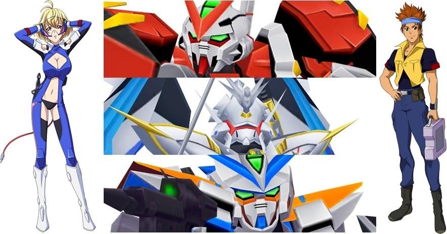 [Super Robot Taisen X-Ω] Cross Ange และ Gundam SEED Astray เข้าร่วมสู้ศึกด้วยแล้ว!