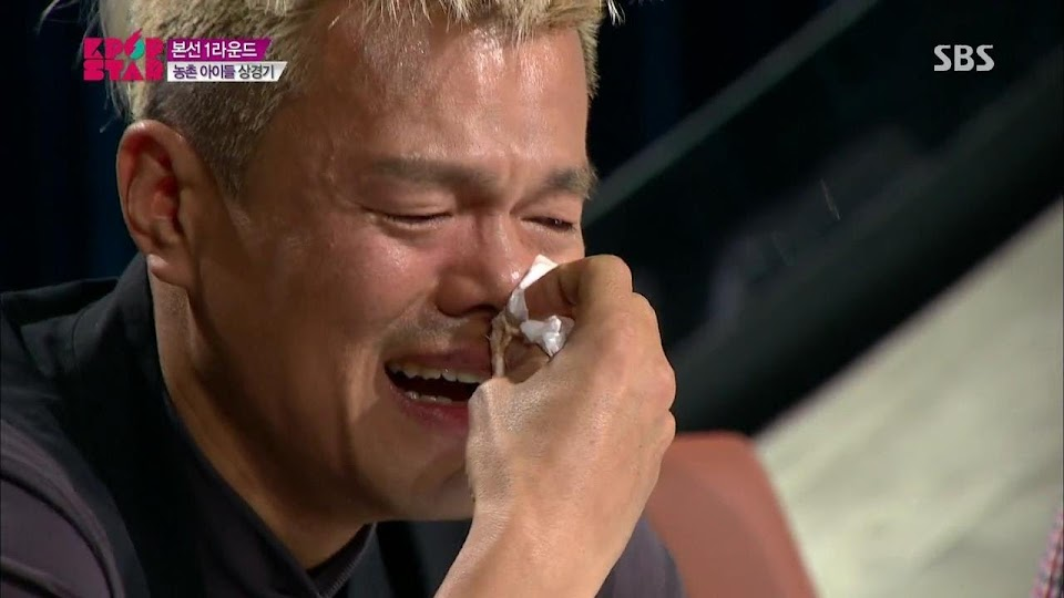 JY park crying