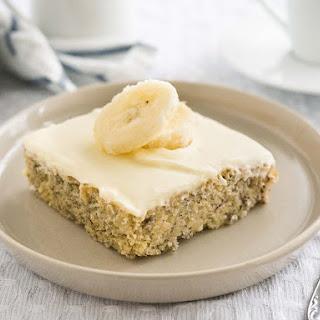 Easy Banana Cake Recipe with Mascarpone Frosting Recipe