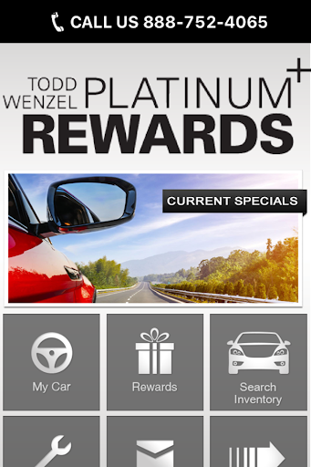 Todd Wenzel Platinum Rewards