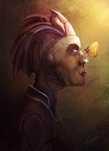 "Photo: ""Monarch""...Imaginative painting."